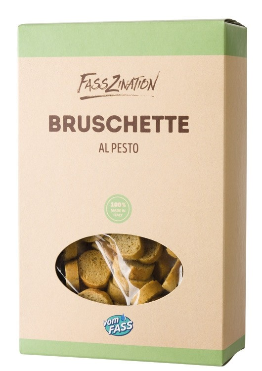 Bruschette al Pesto